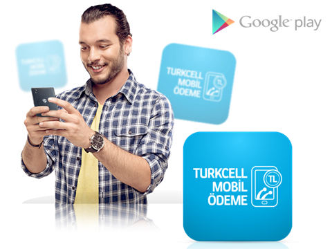 Google Play'de Turkcell Mobil Ödeme
