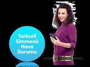 Turkcell Simmenü Hava Durumu