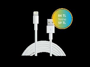 Apple Lightning Şarj ve Senkronizasyon Kablosu