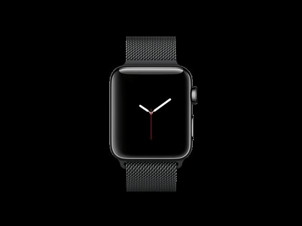 Apple Watch Series 2 38 mm Milano Özel Seri Siyah