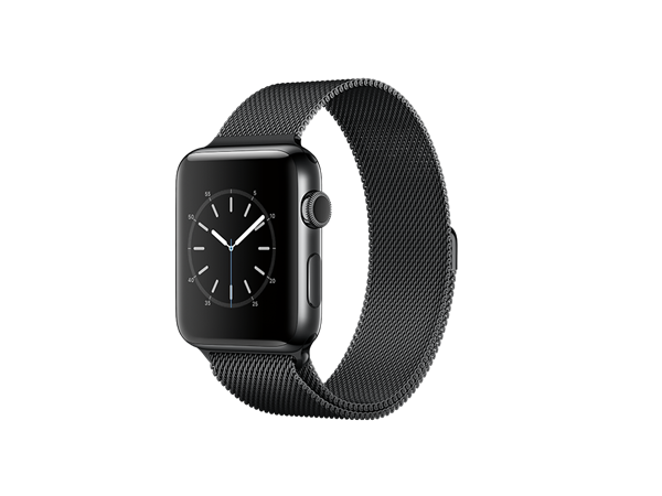 Apple Watch Series 2 42 mm Milano Özel Seri Siyah