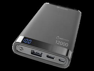 Cellularline Freepower Manta S Taşınabilir Şarj Cihazı 12000 mAh