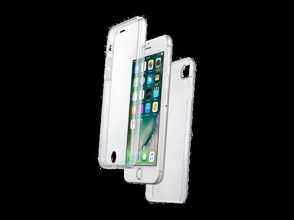Cellular Line iPhone 7/8 Çift Taraflı Şeffaf Kılıf