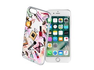Cellularline iPhone 7/8 Style Glam Şeffaf Kılıf