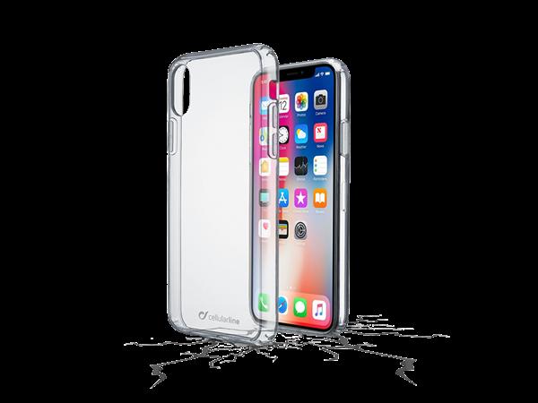 Cellularline iPhone X Şeffaf Sert Kılıf