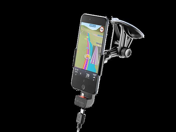 Cellular Line Pilot Active iPhone Vakumlu Araç Tutucu