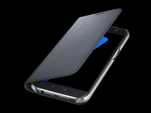 Samsung S7 LED Işıklı Fonksiyonel Kılıf