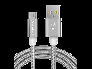 Soultech Örgülü Micro USB Data ve Şarj Kablosu