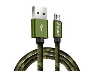 Soultech Platinum Army Micro USB Şarj ve Data Kablosu