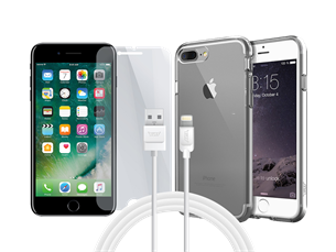 Buff iPhone 7 Plus Air Hybrid 3lü Set 1