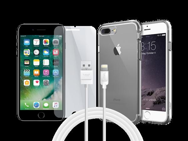 Buff iPhone 7 Plus/8 Plus Air Hybrid 3lü Set 1