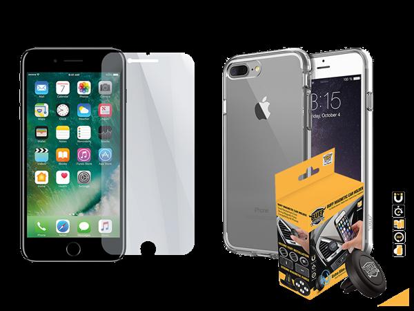 Buff iPhone 7 Plus/8 Plus Air Hybrid 3lü Set 2