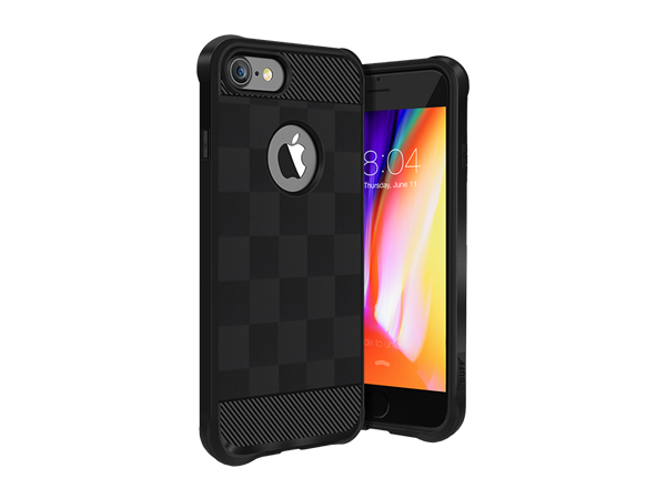 Buff iPhone 8 Black Armor Koruyucu Kılıf