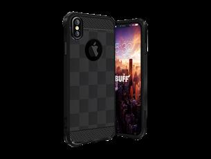 Buff iPhone X Black Armor Koruyucu Kılıf