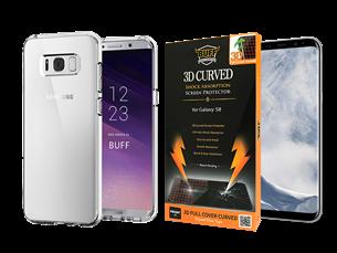Buff Samsung Galaxy S8 Air Hybrid 2li Set