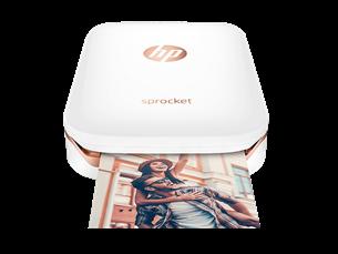HP Sprocket Fotoğraf Yazıcısı + HP ZINK Fotoğraf Kağıdı