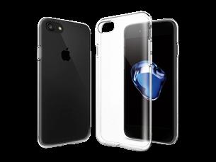 Justech iPhone 7/8 Şeffaf Koruyucu Kılıf
