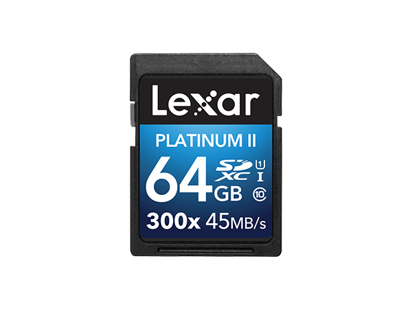 Lexar 300x SDHC Hafıza Kartı 64 GB