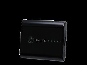 Philips Taşınabilir Şarj Cihazı 5200 mAh Siyah