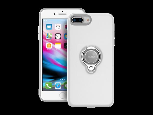 Puro iPhone 7 Plus/8 Plus Manyetik Halkalı Koruyucu Kılıf