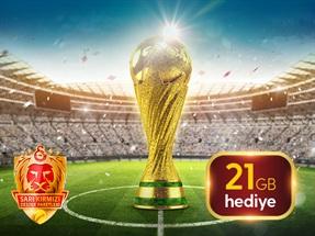 Dünya Kupası 21 GB Kampanyası