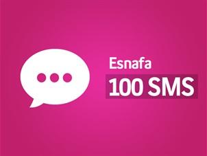 Esnaf 100 SMS Hediye Kampanyası