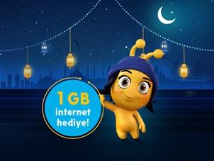 Ramazan 1 GB Hediye Kampanyası