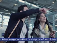 Turkcell Yurt Dışında 4G Hızında İnterneti Sizinle Buluşturuyor